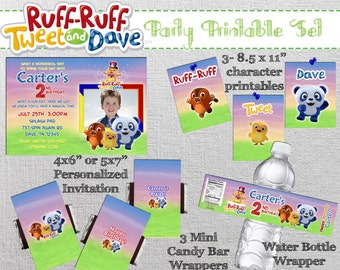Ruff-Ruff Tweet and Dave Party Package