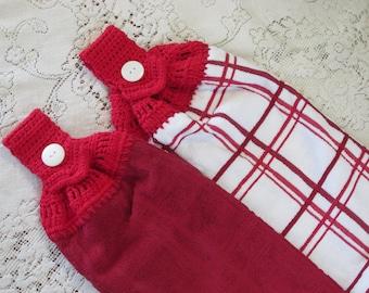Kitchen Towel Top Crochet Pattern Instant Download Pdf