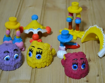 Vintage McDonalds Fry Guys Happy Meal Toys Figures 1989 Collectible