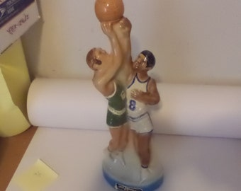 1974 Ezra Brooks Basketball Players Whisky Decanter