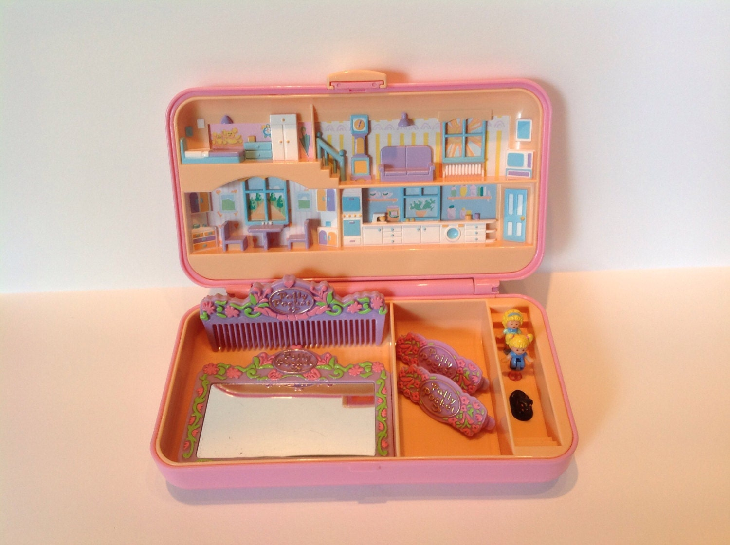 1990 Polly Pocket Pretty Hair Play Set