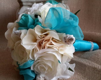 Beach Bouquet, Wedding Bouquet, Beach Wedding bouquet, Maids Bouquet