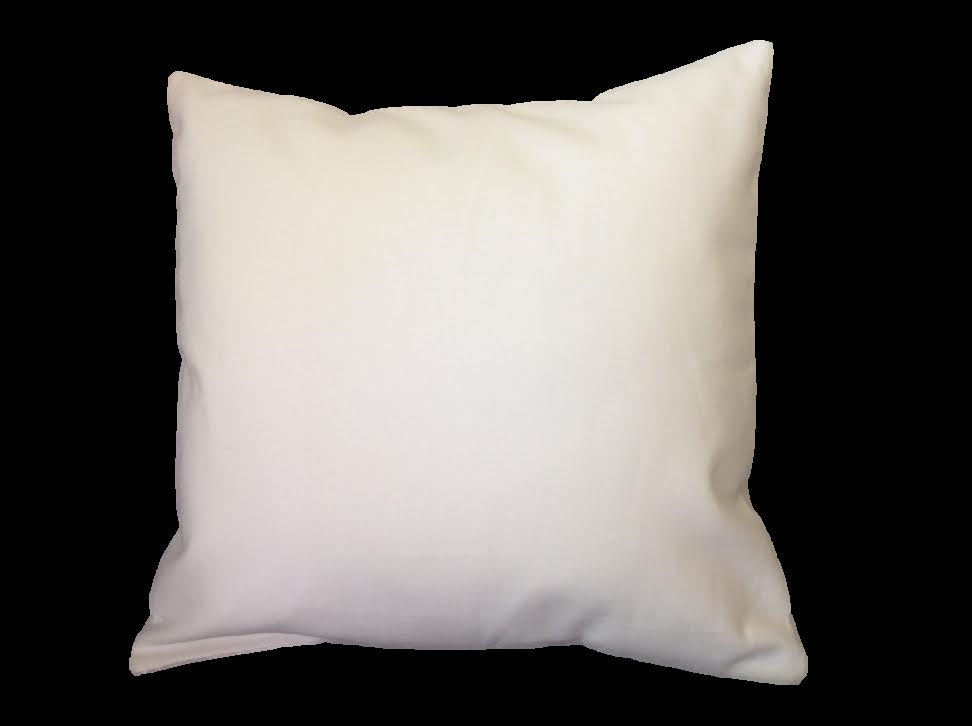 Blank Decorative Pillow Covers : White canvas pillow cover blank throw pillow by organizedmesss