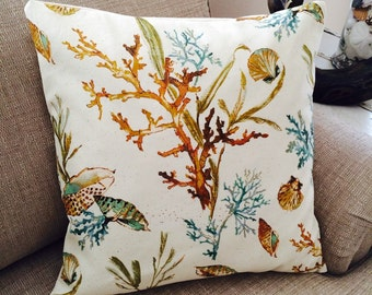 Nuetral Coastal Pillow cover