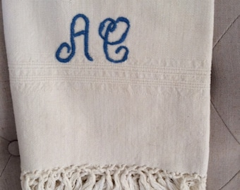Antique Italian Linen Towel