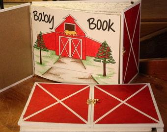 Farm Baby Book