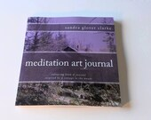 Book. Meditation Art Journal coloring book and journal inspired by a cottage in the woods by Sandra Glover Clarke