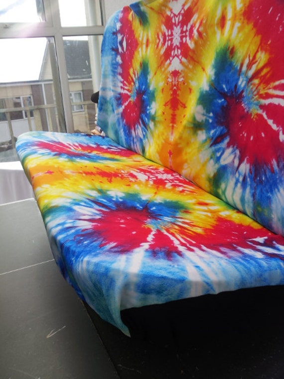 Set Of Car Seat Covers Front And Rear Covers Tye Dye English