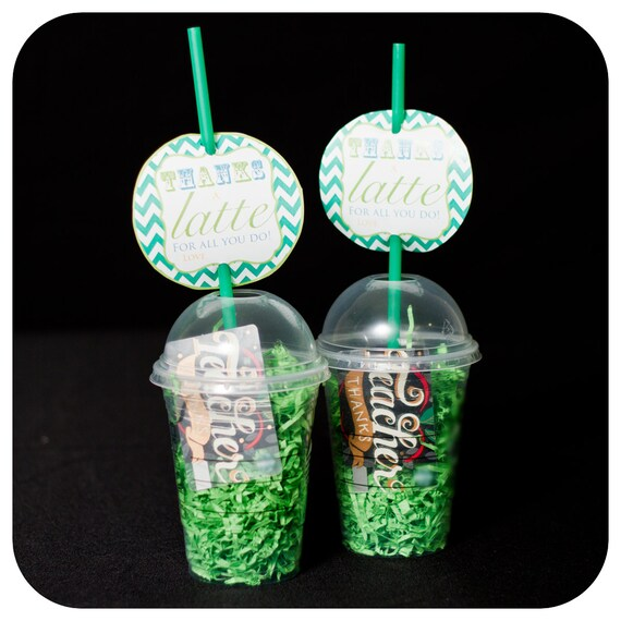 Thanks a latte for all you do teacher gifts thanks a Thanks for all you do gifts