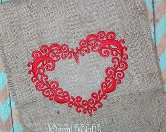 GG1476 Swirly Heart