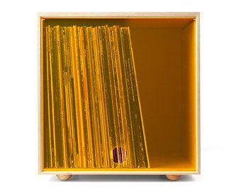 Stackable Storage Cube - Orange - LP Vinyl Record Storage