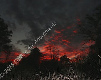 After A Long Day... - Digital Photograph/Art - Instant Download - By Carbon Arc Adornments - UPC 700153944816