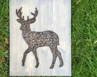 MADE TO ORDER String Art Deer Sign