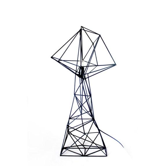 Geometric Triangle Lamp Shade Minimal Home Decor By
