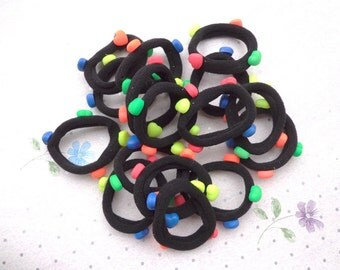 Heart accessories hair band - ponytail holders,ponytail,felt Hair bobbles,hair elastics,childrens,girls,babies,toddlers