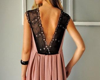 Boho Dress, Vintage Dress, Cocktail Dress