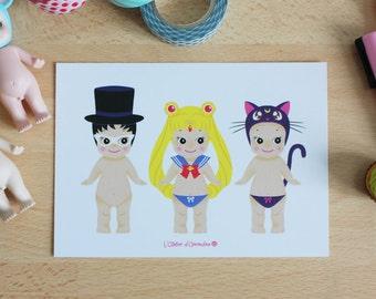 Card - Sonny Angel x Sailor Moon