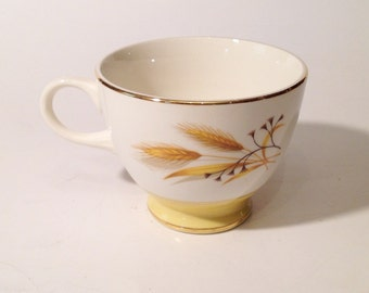 Autumn Gold Wheat Coffee Cup  by Century Service Corporation