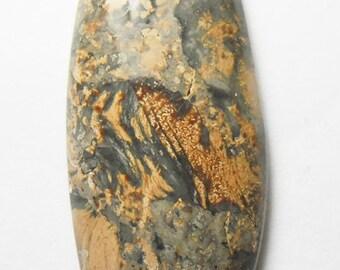 Beautiful rhyolite cabochon  (E1686)