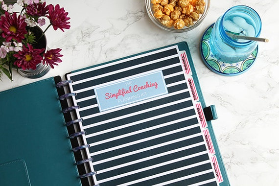 Simplified Coaching Planning Kit: EDITABLE