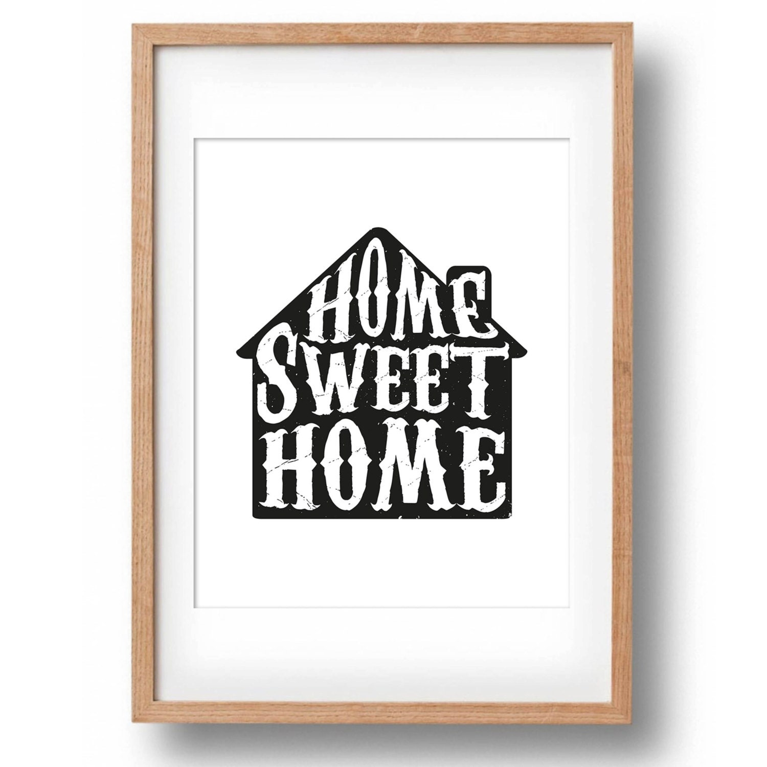 Home Sweet Home Print Home Sweet Home Sign by ...
