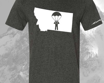 Montana Sky Diver Shirt ANY STATE AVAILABLE