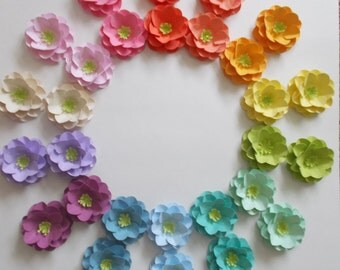 50 seeded paper roses plantable wedding favors garden party favors rainbow roses embedded. beautiful ideas. Home Design Ideas