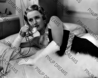 """Photo Wall Art Print of Barbara Stanwyck Vintage Classic Movie Star size A4 (11.7"""" x 8.3"""")"""