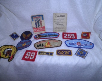 Vintage Collection Of Boy Scout  Patches