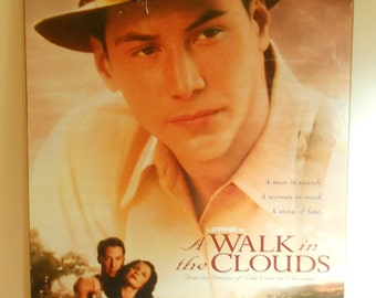 A Walk in The Clouds (1995) Original 2 Sided Movie Poster Keanu Reeves