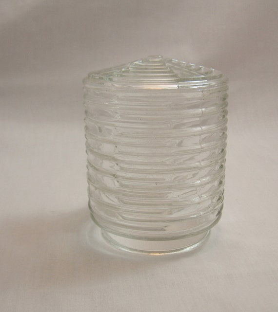 Vintage Clear Glass Porch Light Cover or by ...