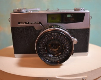 Petri 7 Camera with leather case.
