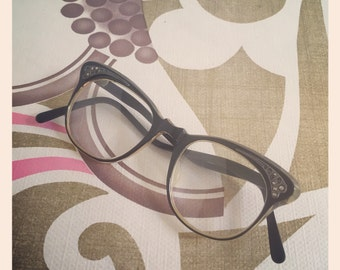 Sale* Ladies Cats Eye Glasses - 1950's