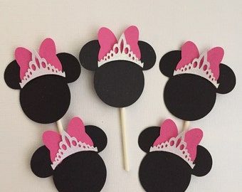 Minnie Rella cupcake toppers