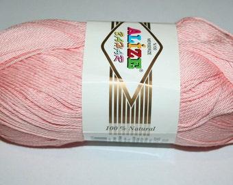 Summer yarn. Mercerized cotton. Yarn Alize Bahar.