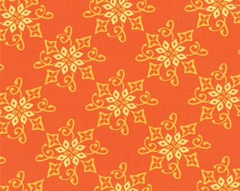 One Yard Daydreams - Reflection in Persimmon - Cotton Quilt Fabric - designed by Kate Spain for Moda Fabrics - 27174-18 (W2790)