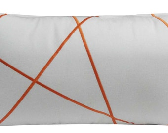 Modern Geometrical Criss Cross design pillow cover