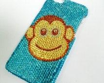 iPhone 6 bling monkey case