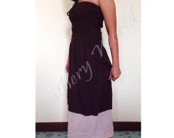 Women's dresses, Summer dresses, Skirt, Brown long dresses