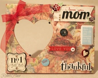 Mother's Day/ I love you mom/Mother/Mom/ Picture frame