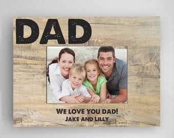 Personalized Father's Day Frame - Daddy Frame  - Father's Day Gifts - GC1273 CLASSIC