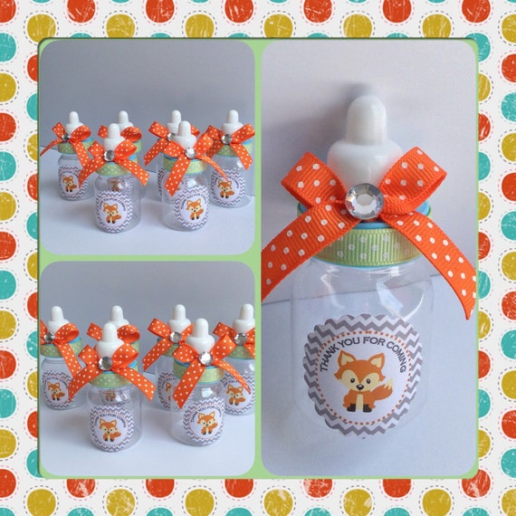 12 fox baby shower baby bottles fox baby shower fox baby shower