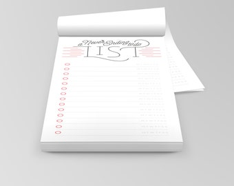 A Never Ending To Do List Notepad