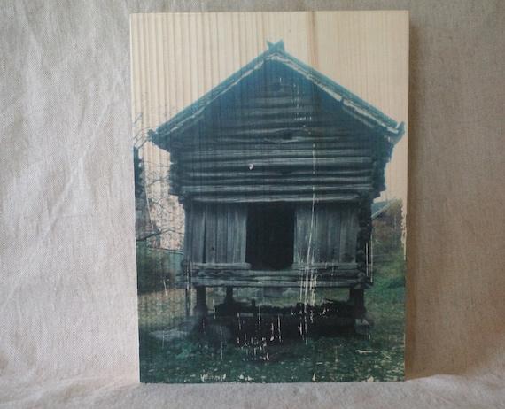 transfert photo sur bois norv ge. Black Bedroom Furniture Sets. Home Design Ideas
