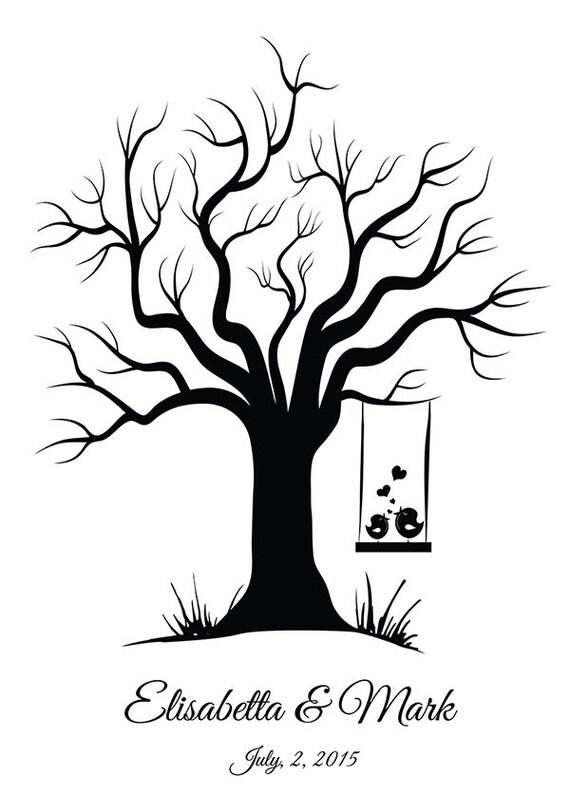 malvorlage hochzeitsbaum  tippsvorlage