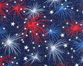 Fireworks - Cotton Woven Fabric
