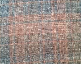 Fine Wool Blend Plaid