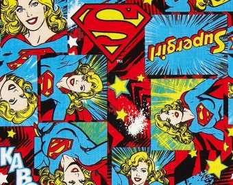 Camelot Fabrics - Girl Power 2 Supergirl - Cotton Fabric