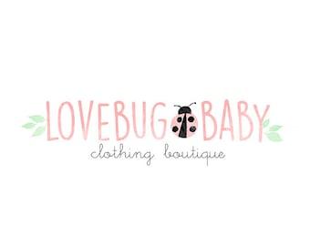 Logo Design Branding, Photography Logo, Small Business Logo, Custom Logo, Logo Design Package, Affordable Logo, Ladybug Logo, Logo Branding