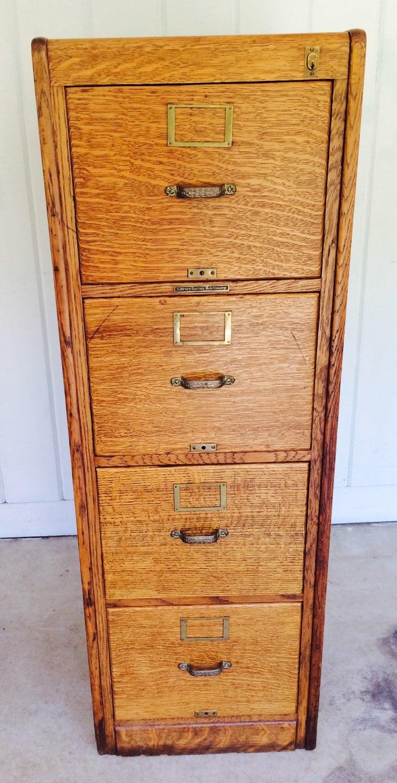 held for allison tiger oak antique wood library bureau. Black Bedroom Furniture Sets. Home Design Ideas